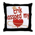 Erik Lassoed My Heart Throw Pillow
