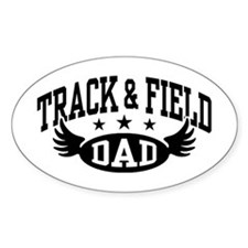 Track & Field Dad Decal