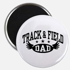 Track & Field Dad Magnet
