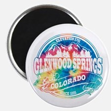 Glenwood Springs Old Circle Magnet