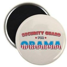 Security Guard For Obama Magnet