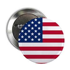 """USA Flag 2.25"""" Button"""