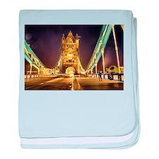 Tower Bridge baby blanket