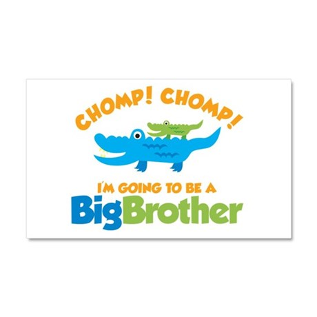 Alligator going to be a Big B Car Magnet 20 x 12