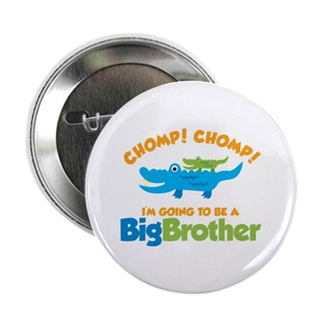 """Alligator going to be a Big B 2.25"""" Button"""