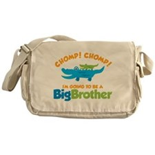Alligator going to be a Big B Messenger Bag