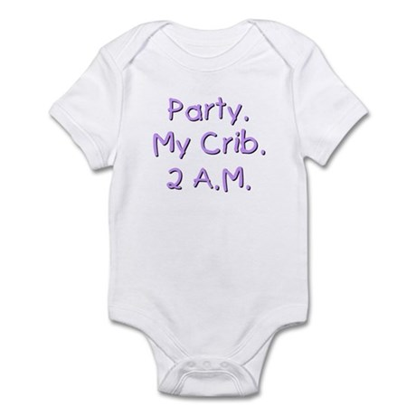 """""""Baby Party"""" Infant Creeper"""