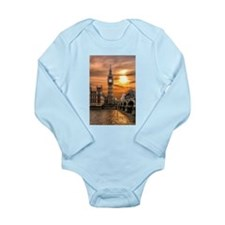 Houses of Parliament Long Sleeve Infant Bodysuit