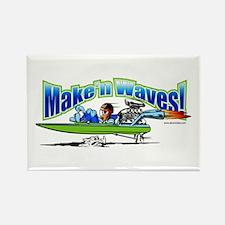 Make'n Waves Rectangle Magnet