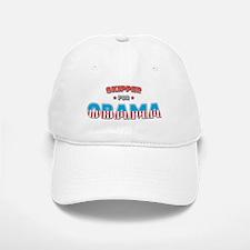 Skipper For Obama Baseball Baseball Cap
