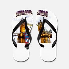 Tower bridge, London Flip Flops