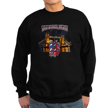 Tower bridge, London Sweatshirt (dark)