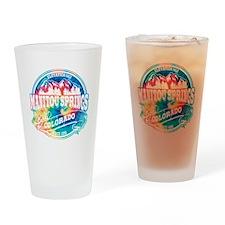 Manitou Springs Old Circle Drinking Glass