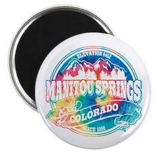 Manitou Springs Old Circle Magnet
