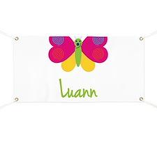 Luann The Butterfly Banner
