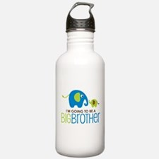 Elephant going to be a Big Brother Water Bottle