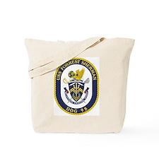 USS Forrest Sherman DDG Tote Bag