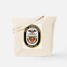 DDG 99 USS Farragut Tote Bag