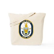 USS Kidd DDG 100 Tote Bag