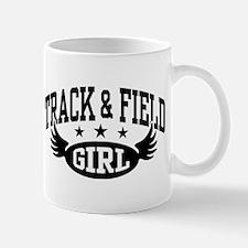 Track & Field Girl Mug
