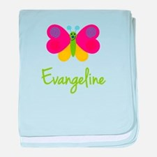 Evangeline The Butterfly baby blanket