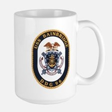 USS Bainbridge DDG 96 Large Mug