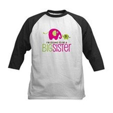 Elephant going to be a Big Sister Tee