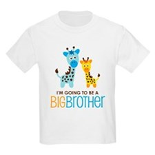 Giraffe going to be a Big Brother T-Shirt