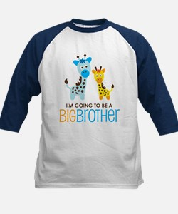 Giraffe going to be a Big Brother Kids Baseball Je