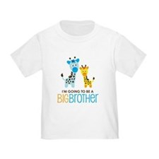 Giraffe going to be a Big Brother T