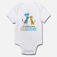 Giraffe going to be a Big Brother Onesie