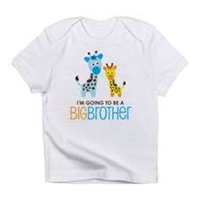 Giraffe going to be a Big Brother Infant T-Shirt