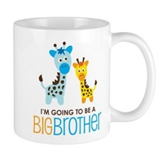 Giraffe going to be a Big Brother Mug