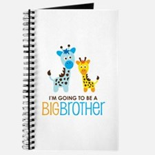 Giraffe going to be a Big Brother Journal