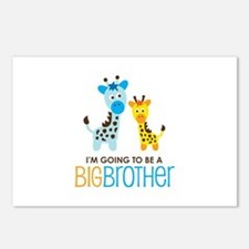 Giraffe going to be a Big Brother Postcards (Packa