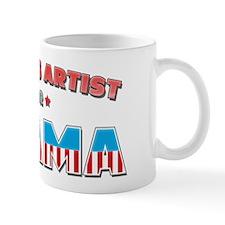 Tattoos Artist For Obama Mug