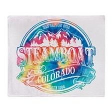 Steamboat Old Circle 3 Throw Blanket