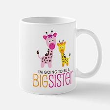 Giraffe going to be a Big Sister Mug