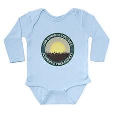 End Ethanol Subsidies Long Sleeve Infant Bodysuit