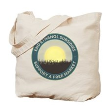 End Ethanol Subsidies Tote Bag