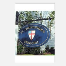 St Christopher's Episcopal Postcards (Package of 8