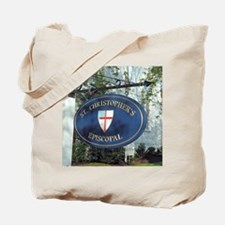 St Christopher's Episcopal Tote Bag
