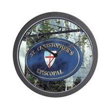 St Christopher's Episcopal Wall Clock