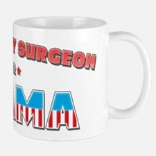 Veterinary Surgeon For Obama Mug