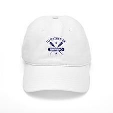 I'd Rather be Rowing Baseball Cap