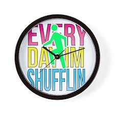 Shufflin Wall Clock