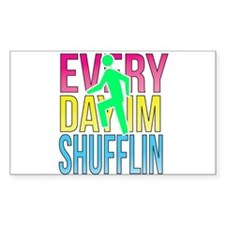 Shufflin Decal