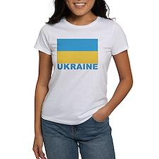 World Flag Ukraine Tee