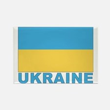 World Flag Ukraine Rectangle Magnet