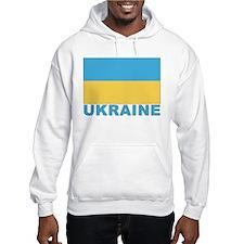 World Flag Ukraine Hoodie